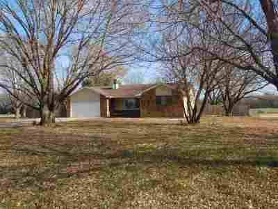 Mulvane Single Family Home For Sale: 1350 N Greenfield Rd