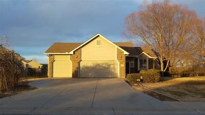 Derby Single Family Home For Sale: 1736 N Walnut Creek Drive