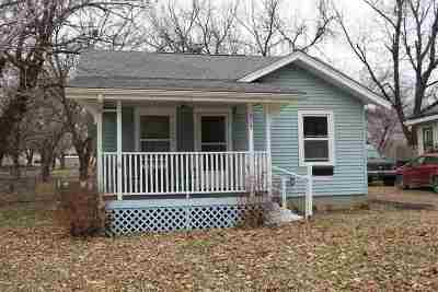 El Dorado KS Single Family Home For Sale: $38,900