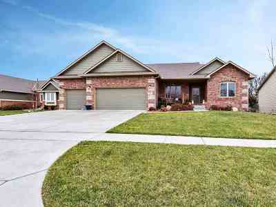 Derby KS Single Family Home For Sale: $320,000