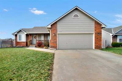Valley Center Single Family Home For Sale: 615 S Abilene Ave