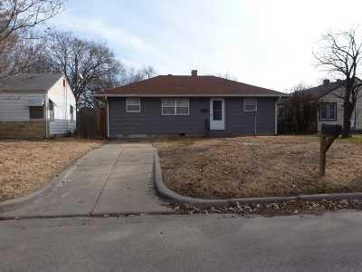 Wichita KS Single Family Home For Sale: $65,000