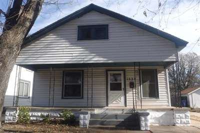 Wichita KS Single Family Home For Sale: $55,000