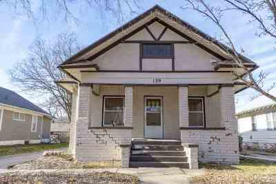 Wichita KS Single Family Home For Sale: $95,000