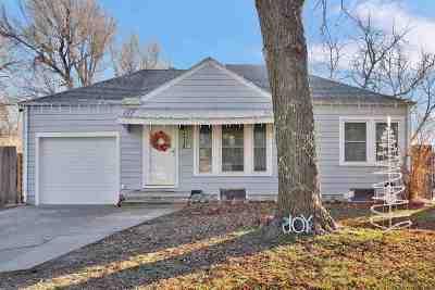 Wichita KS Single Family Home For Sale: $94,000