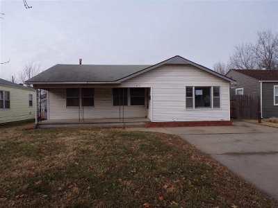 Wichita KS Single Family Home For Sale: $48,000