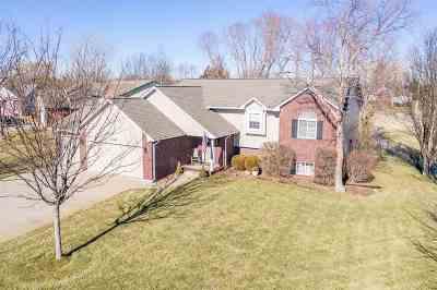 Wichita Single Family Home Contingent: 12360 E Lincoln Ct