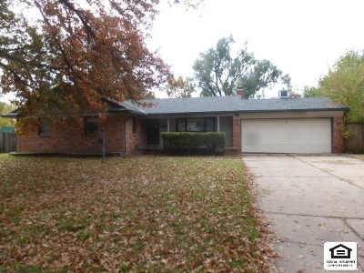 Wichita KS Single Family Home For Sale: $104,900