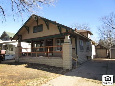 Wichita KS Single Family Home For Sale: $54,500