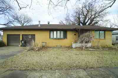 Reno County Single Family Home For Sale: 726 W 15th Ave