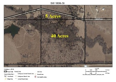Rose Hill Residential Lots & Land For Sale: SW 180th St.