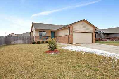 Haysville Single Family Home For Sale: 1861 W Saddle Brooke