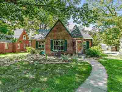 Wichita Single Family Home Contingent: 157 N Parkwood Ln