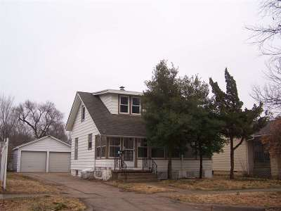 Wichita KS Single Family Home For Sale: $25,000