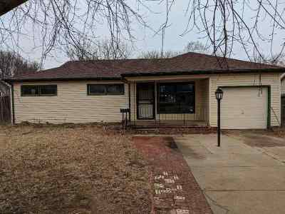 Wichita KS Single Family Home For Sale: $86,000