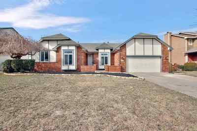 Derby Single Family Home For Sale: 806 E Cedarbrook Rd