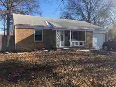 Wichita KS Single Family Home For Auction: $53,000