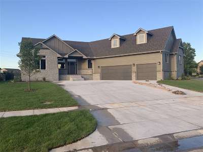 Derby Single Family Home For Sale: 863 E Rough Creek Ct