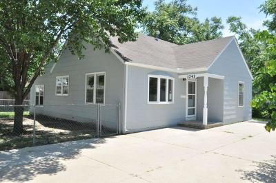 Wichita KS Single Family Home For Sale: $76,000
