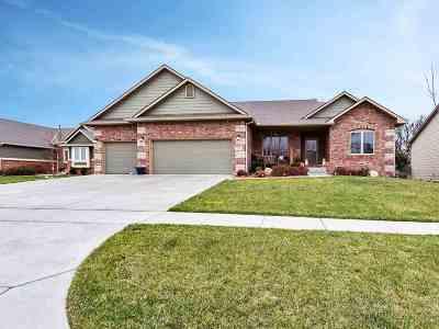 Derby Single Family Home For Sale: 1036 N Beau Jardin