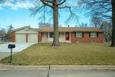 Wichita Single Family Home For Auction: 8418 E Peach Tree Ln