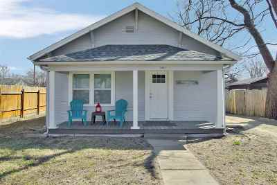 Wichita Single Family Home For Sale: 1628 S Greenwood Ave