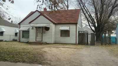 Wichita KS Single Family Home For Auction: $0