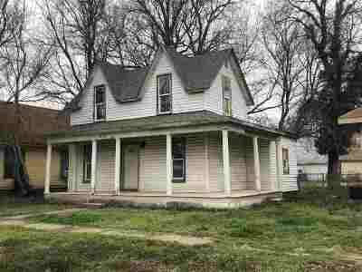 Arkansas City KS Single Family Home For Sale: $32,750