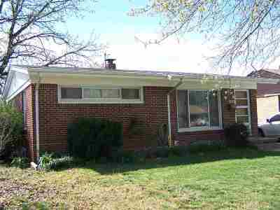 Wichita Single Family Home For Sale: 2617 N Somerset Ave