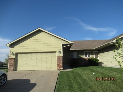 Wichita KS Single Family Home For Sale: $1,150