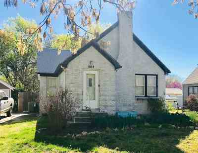 Wichita KS Single Family Home For Sale: $65,000