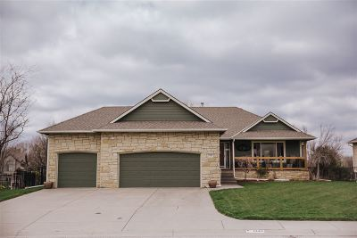Derby Single Family Home For Sale: 1349 S Hilltop Rd