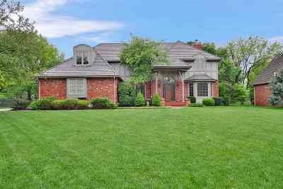 Wichita Single Family Home For Sale: 8825 E Shadowridge