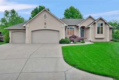Wichita Single Family Home For Sale: 2877 N Tee Time Ct