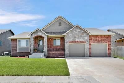 Wichita Single Family Home For Sale: 12411 E Cherry Creek St