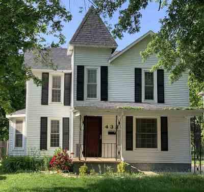 Newton Single Family Home For Sale: 432 E 4th St