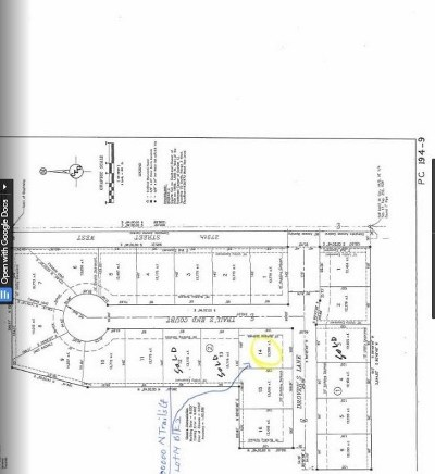 Residential Lots & Land For Sale: N Trail's End Ct