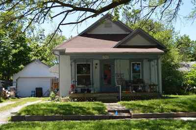 Wichita Single Family Home For Auction: 921 S Sedgwick St
