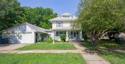 Augusta Single Family Home For Sale: 531 N Osage St