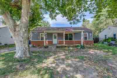 Derby KS Single Family Home For Sale: $108,000