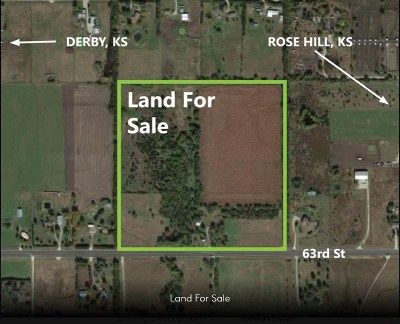 Derby Residential Lots & Land For Sale: 15500 E 63rd