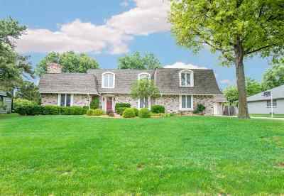Wichita Single Family Home For Sale: 7700 E Killarney Pl