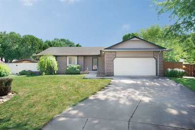 Wichita Single Family Home For Sale: 11528 W 1st Ct N