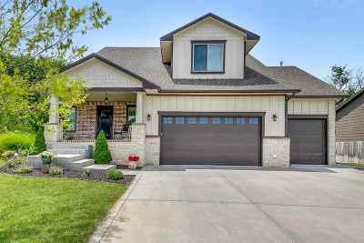 Wichita Single Family Home For Sale: 12722 W Hardtner Circle