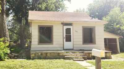 Winfield KS Single Family Home For Sale: $18,900