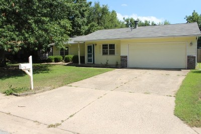 Mulvane Single Family Home For Sale: 1406 N Shelly Dr.