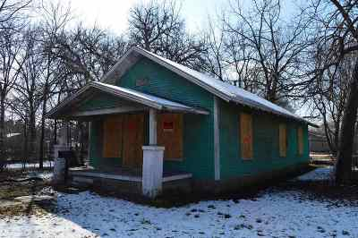 El Dorado Single Family Home For Sale: 717 N Washington St