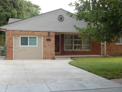 Wichita Single Family Home For Sale: 3020 E Stafford St
