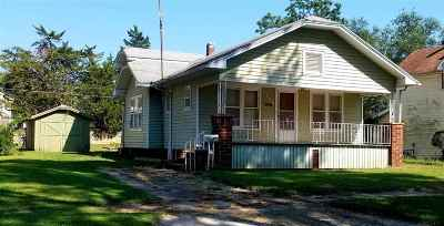 Winfield KS Single Family Home For Sale: $58,000