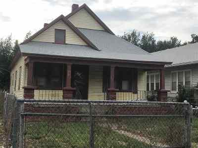 Single Family Home For Sale: 1121 N Cleveland Ave
